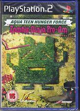 Ps2 PlayStation 2 «AQUA TEEN HUNGER FORCE ♣ ZOMBIE NINJA PRO-AM» nuovo import UK
