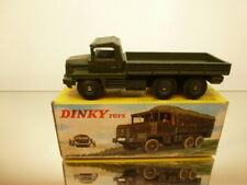 DINKY TOYS 824 GAZELLE BERLIET ARMY TRUCK - MILITARY GREEN L13.5cm - GOOD IN BOX