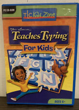 Mavis Beacon Teaches Typing For Kids - Rare UK PC CD Rom 6+