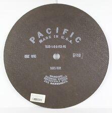 "Pacific 16"" x 1/8"" x 1"" Cut-Off Wheels, Aluminum Oxide, (10 PACK)"