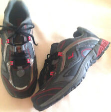 Shoes mens size 8.5M EUR 42 athletic new man made materials Everlast Sport black