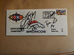 Super Bowl XXXII Denver Broncos-Signed 1998 Commemorative USPS Envelope