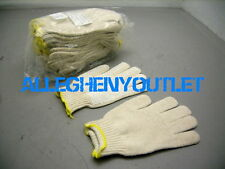 4 Pair PVC Dot Cotton Work Seemless Knit CUT PUNCTURE RESISTANT Gloves XL