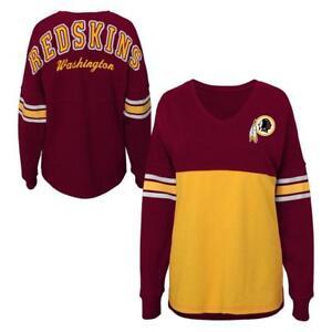 Washington Redskins NFL Teen Girls Sweatshirt Jersey Size Small (3/5) - Preowned