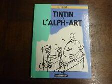 TINTIN ET L ALPH-ART - HERGE - EDITION ORIGINALE