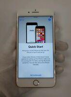 Apple iPhone 8 Plus - 64GB Gold (Unlocked) A1864 - Crack Back,Bent Frame,IC Lock