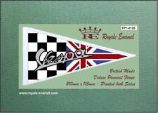 Royale Antenna Pennant Flag - VESPA BLACK WHITE CHECKS UNION JACK - FP1.0125