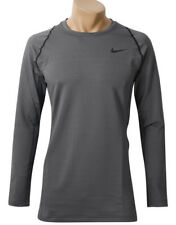 Nike Men's Pro Hyperwarm Compression Long Sleeve Top (917266-021) Size M