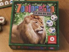 Zooloretto - The Dice Game - French Ed. (English Rules included) - JEU -