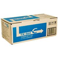 Genuine Kyocera TK-564C Cyan Toner Cartridge
