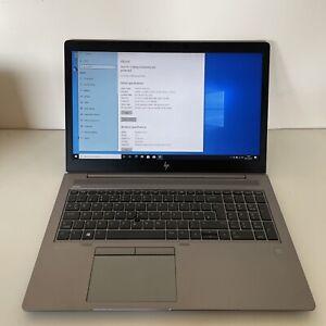 "HP ZBook 15u G5 15.6"" Workstation Pro CAD Laptop i7 8550U, 16GB RAM, 512GB"