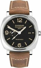 PAM00657 | NEW PANERAI RADIOMIR 1940 3 DAYS GMT ACCIAIO MEN'S AUTOMATIC WATCH