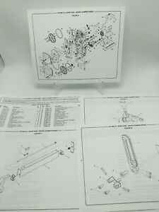 """RYOBI 9"""" BAND SAW BS902 Schematic Diagram and Parts List"""