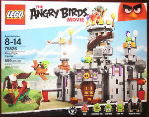 LEGO Angry Birds 75826 - King Pig's Castle (New in sealed box)