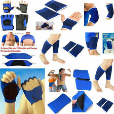 Support Bandage Elastic Sports Brace Ankle-Wrist-Calf-Hand-Knee-Elbow Pair**New