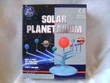 NEW SOLAR PLANETARIUM MODEL KIT BUILD AND PAINT PLANETS SUN SET PADG 1982