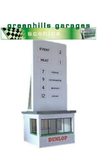 Greenhills Scalextric Slot Car Building Event Board Kit 1:43 Scale - Brand Ne...
