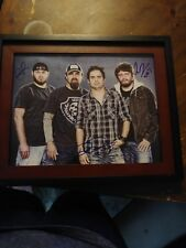 Davisson Brothers Country Musicians Band Signed 11x14 Framed Photo Music