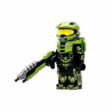 ⎡MINIFIGS FACTORY⎦ Custom Halo The Master Chief Minifigure