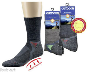 1 bis 5 P. Trekkingsocken Wandersocken Outdoor Funkitons Sportsocken Merinowolle