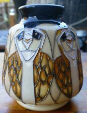 MOORCROFT Tengu Owls by Vicky Lovatt 198/3 Vase RRP £170