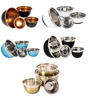 Stainless Steel Mixing Bowl Set of 4 - High Quality Stainless Steel Serving Bowl