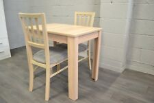 95d45ee944a4 Small modern extending table with 2 chairs in oak sonoma colour MarP
