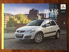 SUZUKI SX4 X-EC LIMITED EDITION 2011 RANGE CAR BROCHURE. 1.6 PETROL CROSS OVER