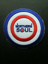 NORTHERN SOUL MUSIC SEW ON / IRON ON PATCH:- NORTHERN SOUL (f) TARGET