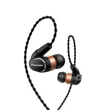 NEW PIONEER SE-CH9T-K Hi-Res Audio In-Ear headphones BLACK from JAPAN