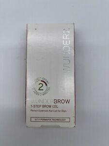 Wunderbrow 2 Eye Brows Gel 1 Step Brow Gel Permafix Technology Perfect Brows NEW