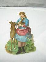 "Vintage Advertising Ad Card - ""Roberts & Hoag - Utica, NY"" 11.5"" x 6.5"""