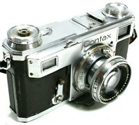Zeiss Ikon Contax II 35mm Film Rangefinder Camera with 50mm F2 Sonnar Lens