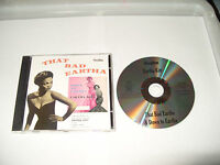 Eartha Kitt - That Bad Eartha/Down To Eartha (2008) cd Near Mint Condition