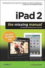 iPad 2: The Missing Manual (Missing Manuals), J.D. Biersdorfer, Used; Very Good