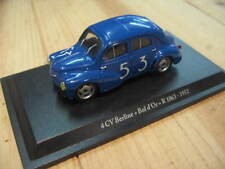 Renault 4CV berline R 1063 Bol d'Or 1952 1:43 Eligor