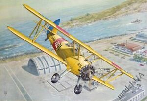 Boeing-Stearman PT-13/N2S Kaydet military trainer aircraft 1/32 Roden 633