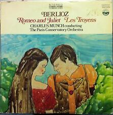 Charles Munch - Berlioz Romeo And Juliet Les Troyens LP VG+ SDBR 3296 Vinyl
