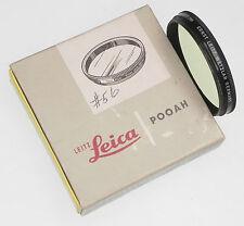 Leica POOAH Yellow 0 Filter for ,20cm Telyt & 9cm f2 Soozi,9cm f2.2 Thambar