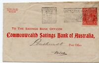 *POSTAL  HISTORY -  RARE LETTER FROM COMMONWELTH BANK OF AUSTRALIA ON 14.04.1934