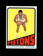 1972-73 Topps Basketball #94 Willie Norwood (Pistons) NM+