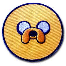 Finn & Jake Patch Embroidered Iron on Cartoon Kids Boy Motif BMO Adventure Time