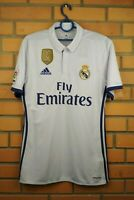 Real Madrid jersey medium 2016 2017 home shirt S94992 soccer football Adidas