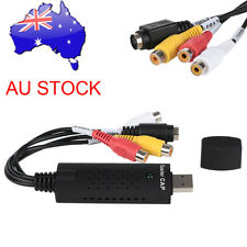 Easycap Capture Card Adapter USB 2.0 Audio Video VHS to PC TV  DVD Converter NSW