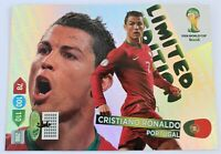 Panini Adrenalyn XL World Cup 2014 Cristiano Ronaldo limited edition XXL