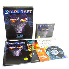 StarCraft for PC by Blizzard Entertainment in Big Box, 1998, Strategy, Sci-Fi
