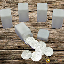 5 CoinSafe AMERICAN SILVER EAGLE Square Coin Tube - Coin Supplies