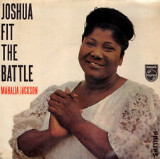 "MAHALIA JACKSON joshua fit the battle +3 tracks 7""EP 429787BE PHILIPS NL"