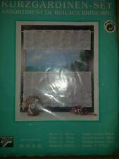 Kurzgardinen Scheibengardinen Bistrogardinen Panneaux + Tischdecke