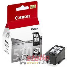 CARTUCCIA ORIGINALE NERO CANON PG-510 PIXMA MP270 MP272 MP280 MP282 MP480 MP490